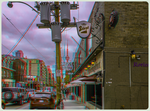 Sin + Redemption 3-D  HDR/Raw Anaglyph Stereoscopy by zour