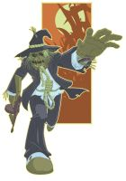 Scarecrow Colored Sketch by paco850