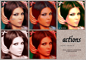 my new actions collections -2 by w-melon
