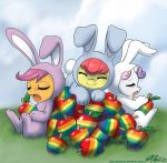 Bunnies and Rainbows by johnjoseco