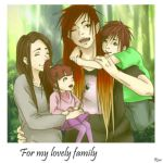 For my lovely family by ShiroPyschopath