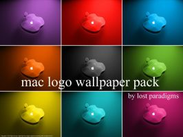 Mac logo wallpaper pack by lOst-ParadigmS