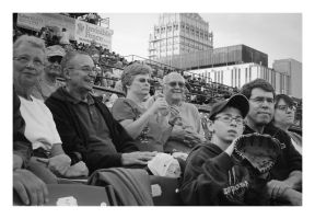 2014-208 People-watching at the ball game by pearwood