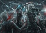 a fine day for killing zombies by oomizuao
