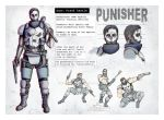 Punisher Redesign by WoodardIllustration