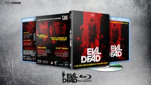 Evil Dead Blu-ray by SeriousDesigns