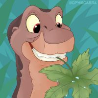 Fan Favorite Series #9 - Littlefoot by sophiecabra