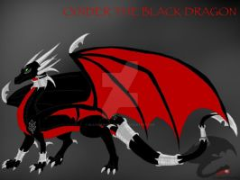 LoS:SFaL-Cynder the Black Dragon by BlackDragon-Studios