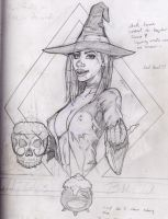 Witches Brew Original Sketch by Splotchy77