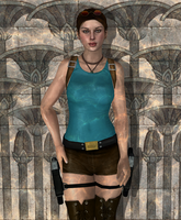 LaraClassic2013,wet version by tombraider4ever