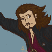 Will Turner Quilt Patch by lilhazelstar