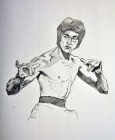 Bruce Lee by ChineseWarri0r