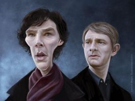 Sherlock by markdraws