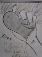 My drawings frm 2 yrs ago by Vonabell