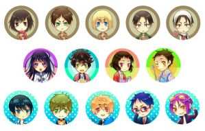 Ax Buttons by bunnychii