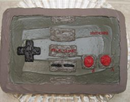Nintendo Controller Cake 1 by pateachoux