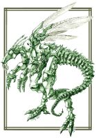 Draconic Insect Complete by Sayda