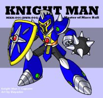 Knight Man!  NOW IN COLOR~ by Blayaden