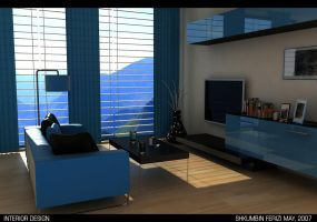 blue interior by devil2k3