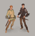 Rurid and Marmareon by GreekCeltic