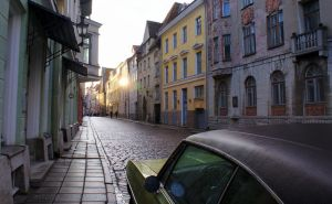 Streets of Tallinn by Asligg