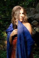 Carrie Anne with Scarf 02 by LinzStock