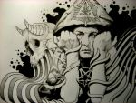 Aleister Crowley. Detail by 75agulhas