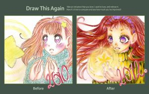 Draw this Again Challenge by Odespaprikan