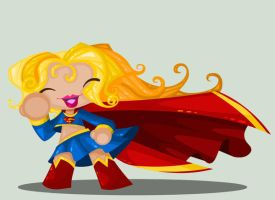 Super Girl by vancamelot