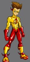 Kid Flash - Whirlwind Style by Whirlwind04