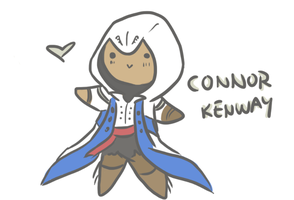 Connor Chibi by hjayblu