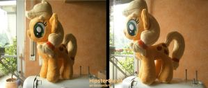 Handmade Applejack Plushie by HipsterOwlet