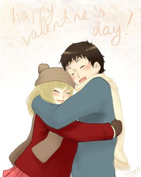 Happy Valentine's day! by OneAngele