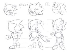Sonic Ref Sheet by rooteh