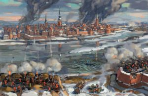 The siege of Riga 1711 by art-bat