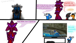 Generaldragons Request- laggy punishment by silver-wing-mk2
