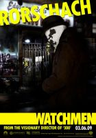 Watchmen Rorscharch Poster by Alecx8