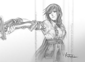 Lightning quick sketch by Nick-Ian