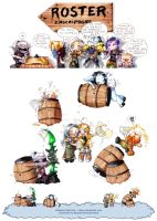 Chibis WoW by Nadou