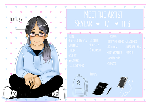 Meet the Artist 2017 by Skylar-Kohai