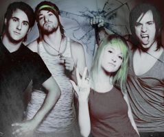 dark paramore wallpaper. by myheart-isyours