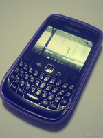 Blackberry Curve 8520 by ignitepressure
