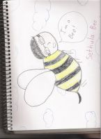 Hes a bee, hes a bee.... by Twighlight-Maiden