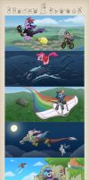 Complete Pony/Ghibli Poster by Lepus-Marj