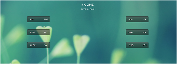 Noche Extend Pack by MustBeResult
