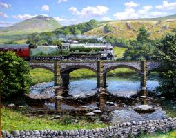 Crossing the Ribble by espiritoart
