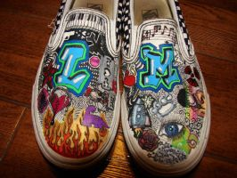 Custom Vans by LeighLaHaye