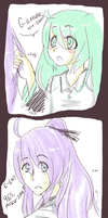 DoodleComic: Gakupo's hair. by aley-hay