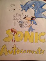 Sonic Autocorrects Cover - Complete by IronBatMaiden91