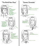 WHR Series and DC: Ludevec's Ages (Roughs) by WorldHero